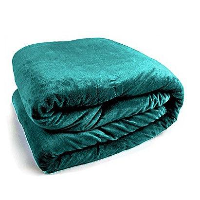 Obojstranná Teplá deka zelená  - Obrázok č. 3
