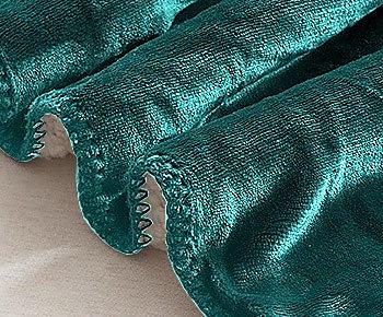 Obojstranná Teplá deka zelená  - Obrázok č. 4