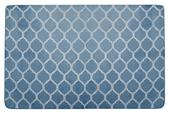Koberec GLAMOUR blue-silver,