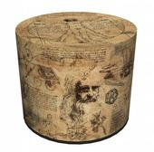3D taburetka Vinci,