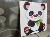 Detský Obraz so zľavou Panda 30x30cm,