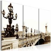 Zľava na obraz na plátne Paríž,