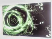 Obraz za polovičnú cenu - Abstraktná ruža 60x40cm,