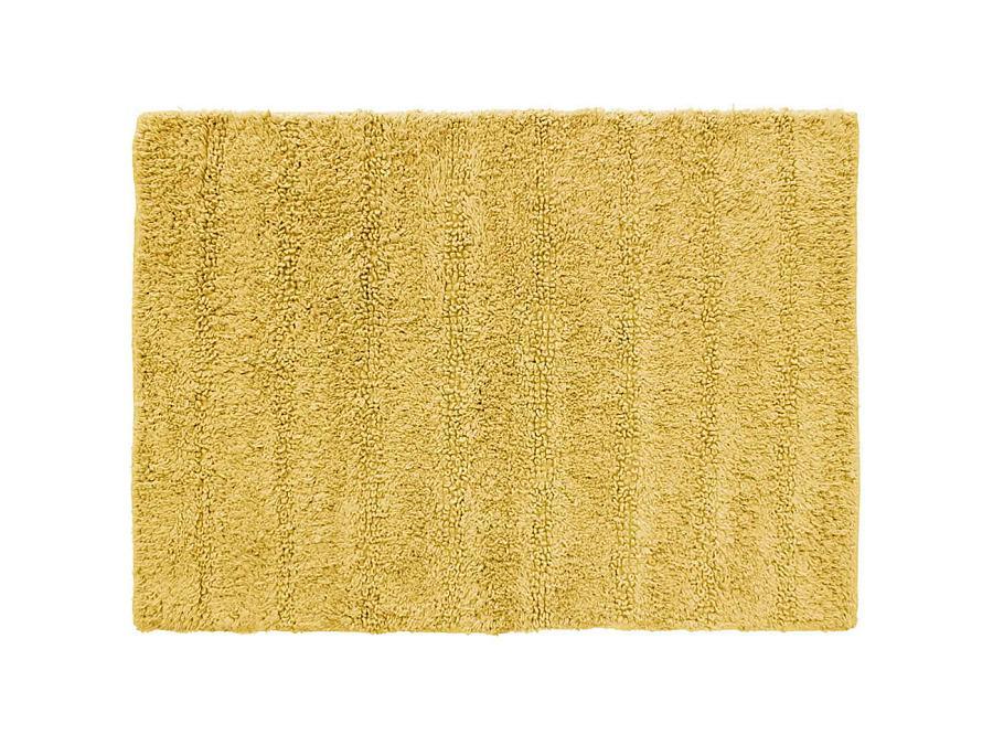 Žltá predložka do kúpeľne bavlnená 50x70cm - Obrázok č. 1