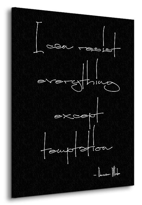 Čiernobiely obraz s nápisom 60x80cm - Obrázok č. 2