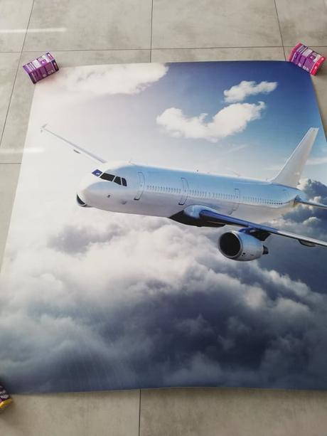 Fototapeta Lietadlo 120x130cm - Obrázok č. 1