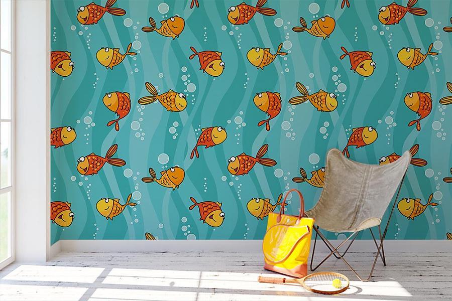 Aj detská izba potrebuje peknú tapetu - Obrázok č. 68
