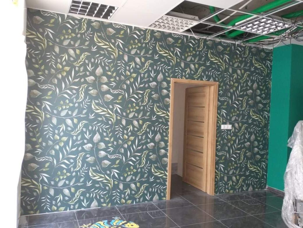 Inšpirácie s tapetami - realizácie v interiéroch - samolepiaca tapeta na stenu, 435x280cm
