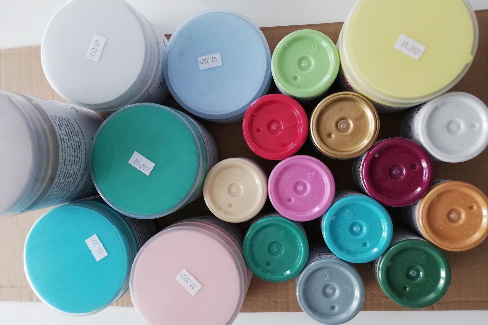 Kriedové farby - Chalk paint 🎨🖌 - Obrázok č. 47