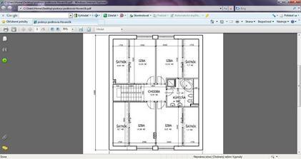 1 navrh poschodie
