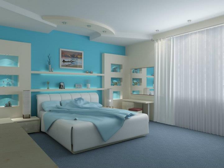 Prajem Vám sladké sny :-) - troška chladná farba pre mňa ale prečo nie, spinkať sa tam môže super