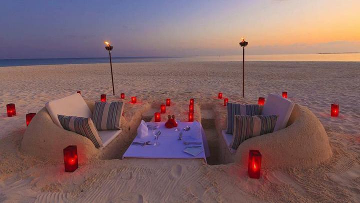 Bez slov a pre zábavu. - Aj v takomto prostredí môžete večerať vo Vellasaru, na Maledivách