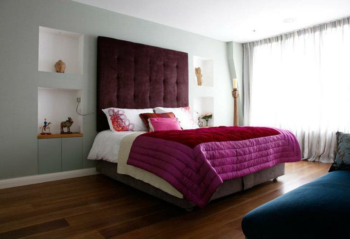 Prajem Vám sladké sny :-) - všimnite si čalúnenie za posteľov dodá posteli úplne iný dizajn