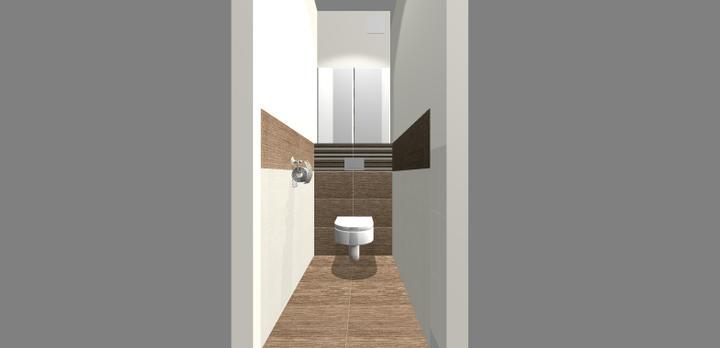 Grafické návrhy - kúpeľní - WC 3 - obr 1