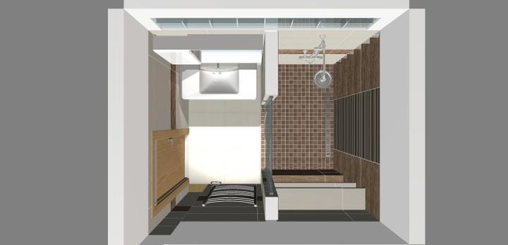 Grafické návrhy - kúpeľní - Kúpeľňa 6-obr 1