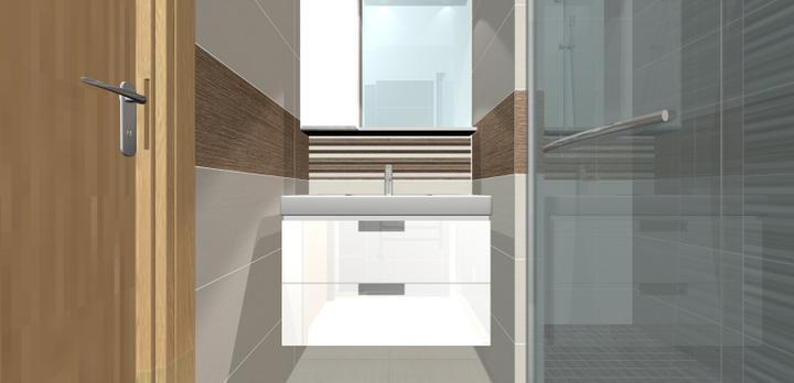 Grafické návrhy - kúpeľní - Kúpeľňa 6-obr 2