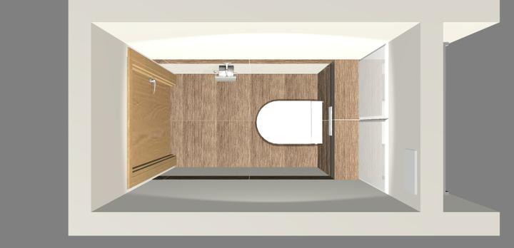Grafické návrhy - kúpeľní - WC 3 - obr 3