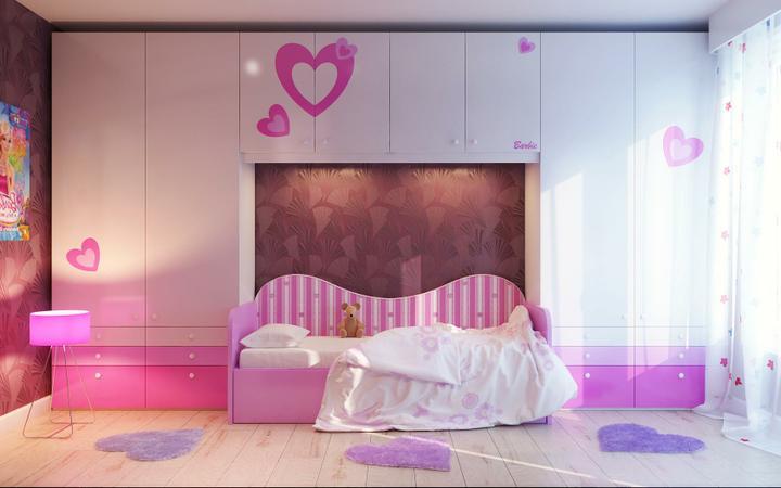 Prajem Vám sladké sny :-) - ružová spáleň pre dievčatko