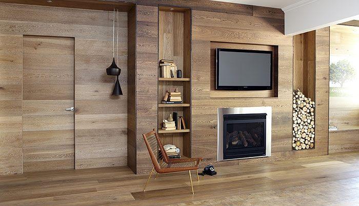 Krásy dreva v interiéri - v tomto prípade je dreva na mňa až príliš ale aj tento interiér má svoje čaro