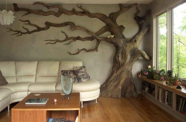 Krásy dreva v interiéri - príroda ako súčasť interiéru :-)