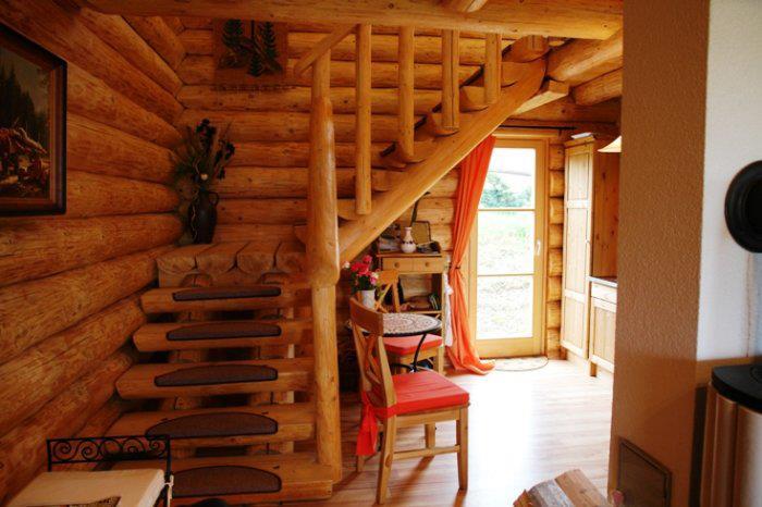 Zrubové domy a zrubový interiér - Obrázok č. 5