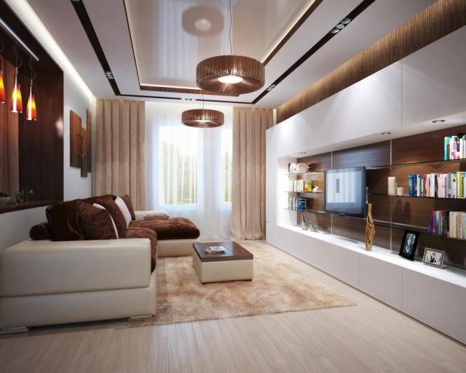 Zaujímavé interiéry - takáto obývačka by sa mohla vojsť aj do našich panelákov