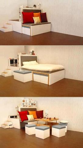 Prajem Vám sladké sny :-) - šikovné riešenie do našich malých priestorov