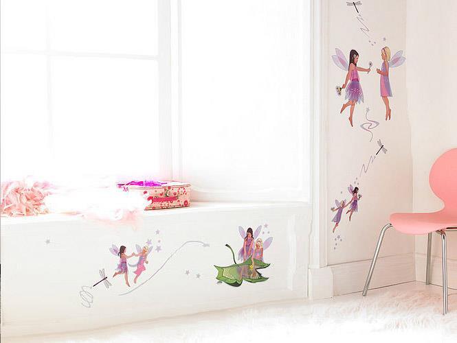 Dekorácie na stenu - pre malú princeznú