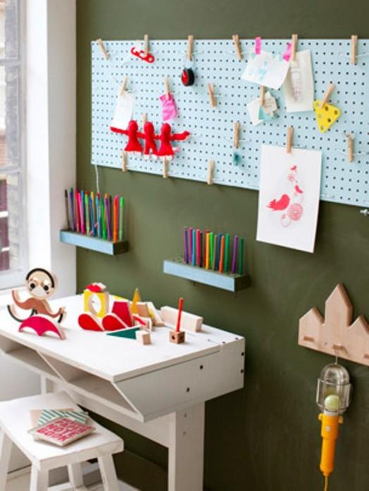 Nábytok pre deti - pracovné miesto kde sa deti môžu s radosťou učiť