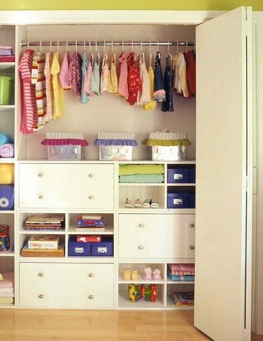 Nábytok pre deti - Pár nápadov ako uložiť oblečenie pre deti :-)