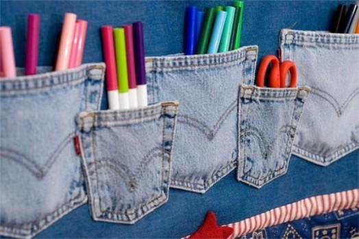 Nábytok pre deti - vrecká na stenu pre deti