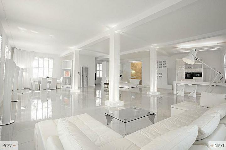 Biely interiér a jeho dekorácie - Číro číra biela čo vy na to ?
