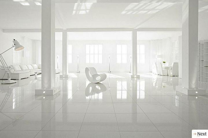 Biely interiér a jeho dekorácie - Obrázok č. 4