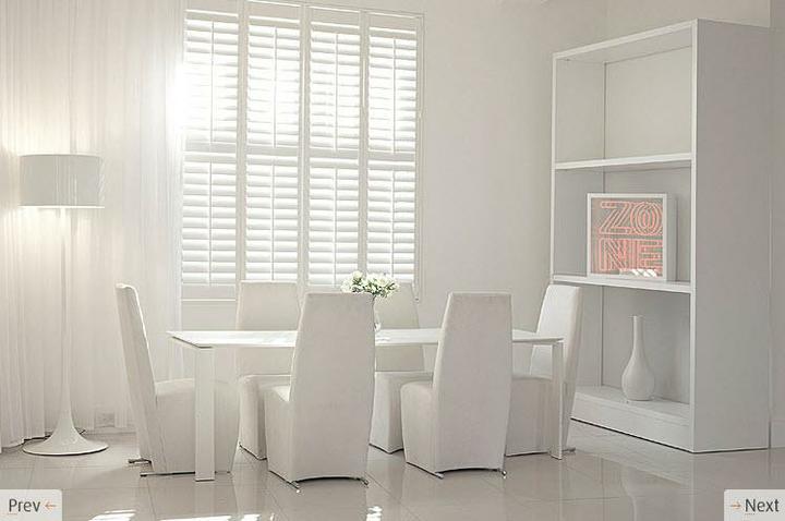 Biely interiér a jeho dekorácie - Obrázok č. 7