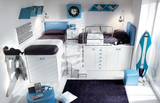 Nábytok pre deti - Poschodové postele pre deti