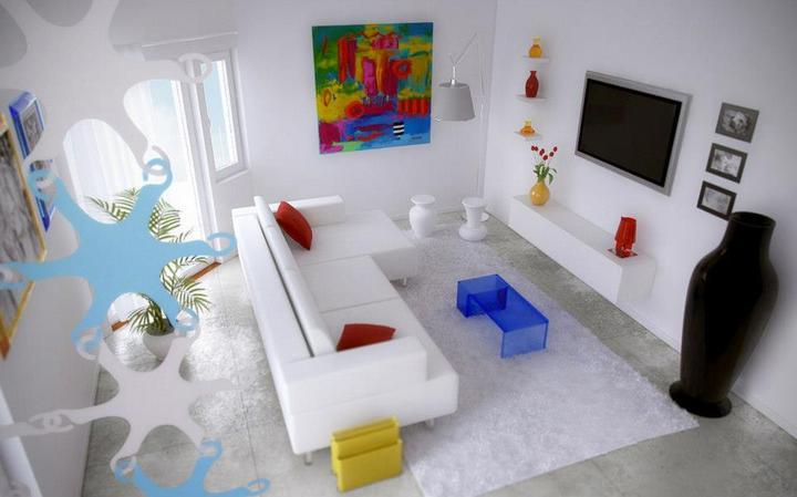 Biely interiér a jeho dekorácie - Obrázok č. 53