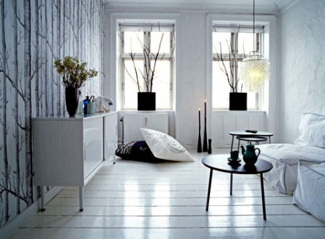 Biely interiér a jeho dekorácie - Obrázok č. 70