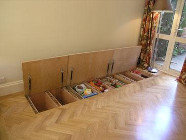 Vychytávky do kuchyne a interiéru - aj v podlahe sa dá urobiť odkladací priestor :-)