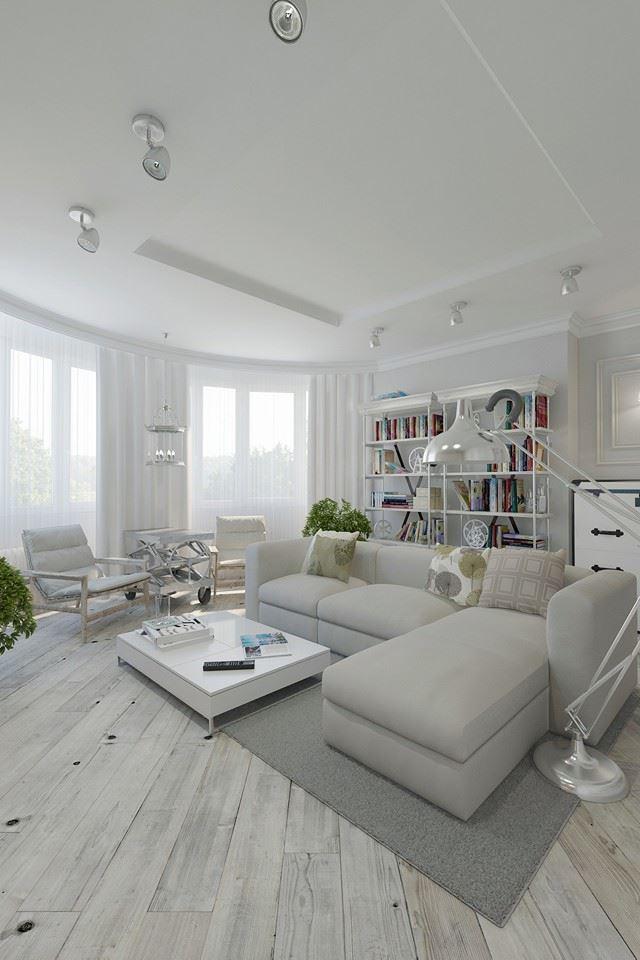 Biely interiér a jeho dekorácie - Obrázok č. 89