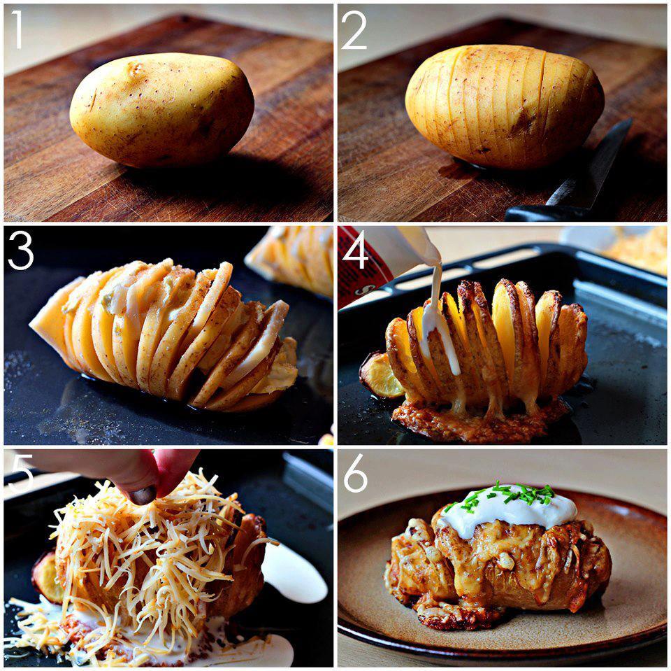 Návody-návodíky - mňamka pre vás - zapekané zemiaky
