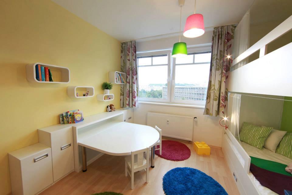 Nábytok pre deti - detská izba- zmena pred a po