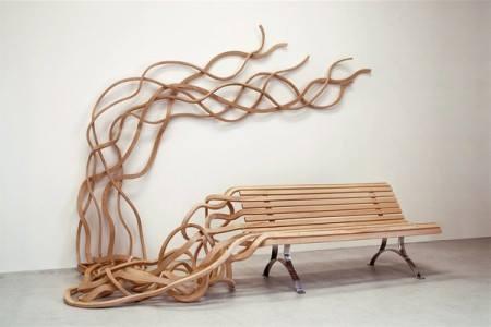 Krása z dreva - lavica, ktorá oživý váš interiér
