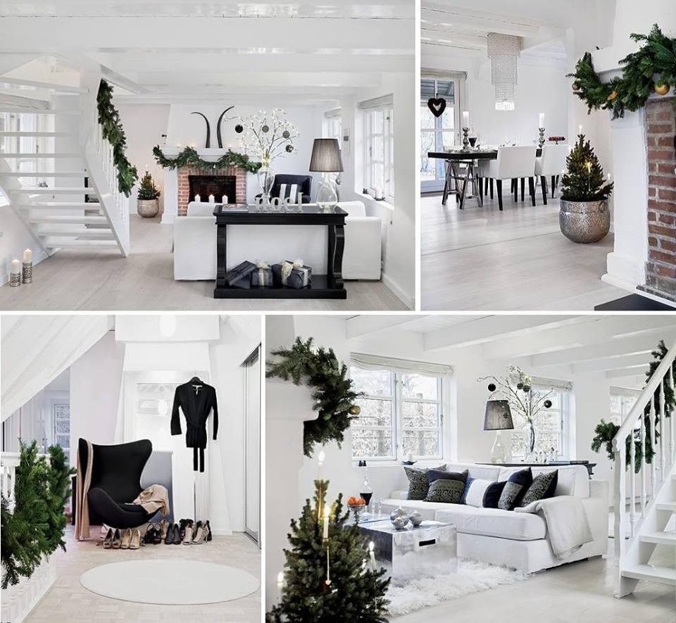 Biely interiér a jeho dekorácie - Vianoce troška inak :-)
