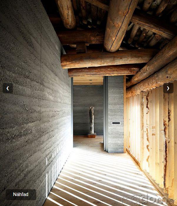 Domy zo sveta, ktoré ma zaujali - album 2 - Nevyužitú stodolu premenili na pozoruhodný dom vo Švajčiarsku