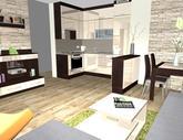 Grafický návrh obývačky - obr.1