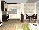 Grafický návrh obývačky - obr.2