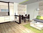 Grafický návrh obývačky - obr.3