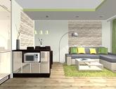 Grafický návrh obývačky - obr.4