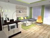 Grafický návrh obývačky - obr.5