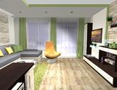 Grafický návrh obývačky - obr.6
